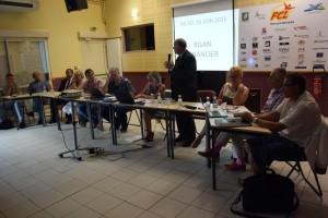 M. Le maire, G. Chassain - AG juin 2015 - FCL Feytiat